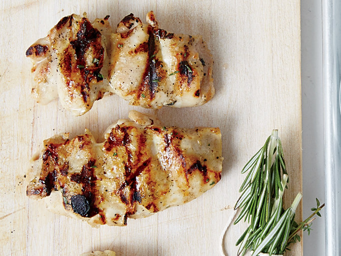 Herb-Basted Grilled Chicken