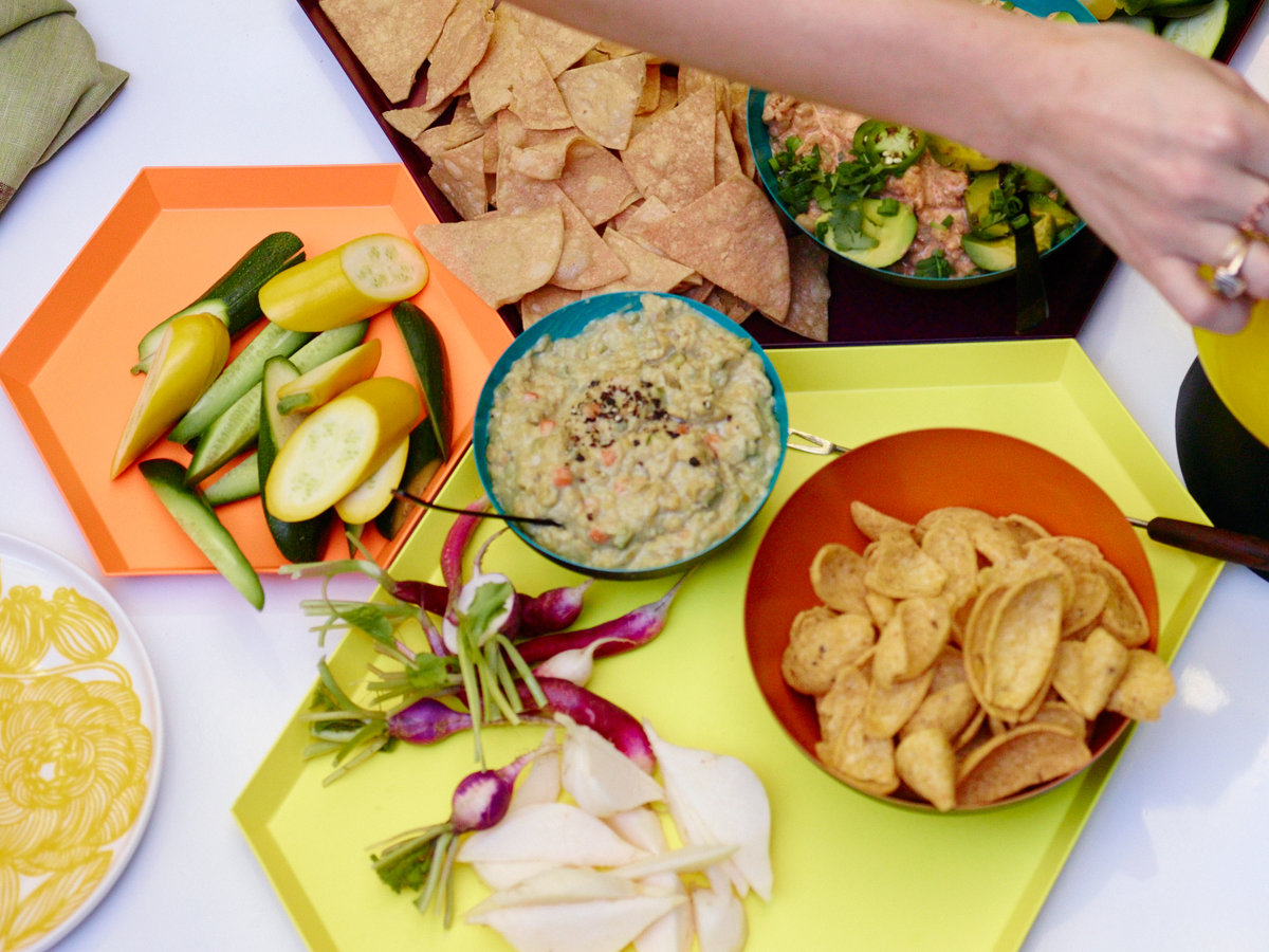Shrimp-and-Avocado Dip with Chiles and Limes
