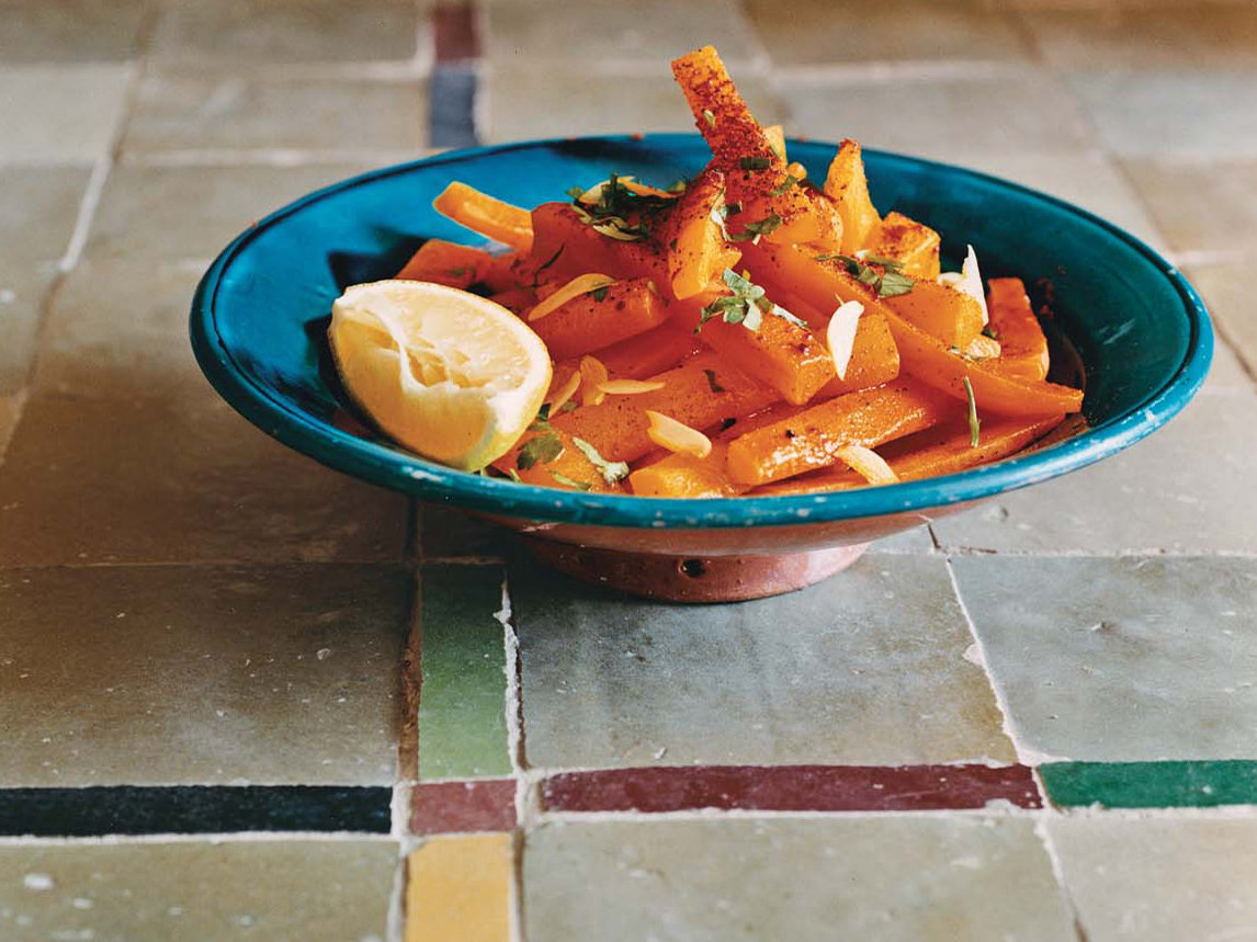 Spicy carrots with parsley and cilantro recipe anissa for Anissa helou lebanese cuisine