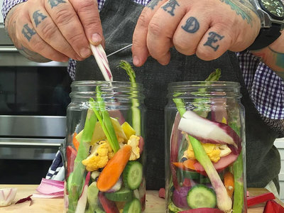 How to Make Spring Pickles