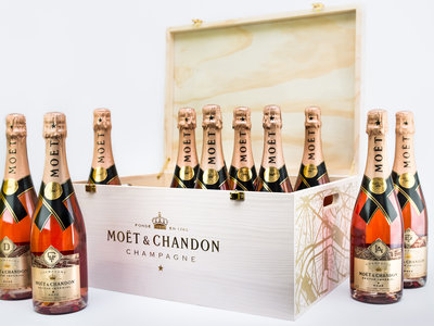 Moet & Chandon Special Edition City Bottles