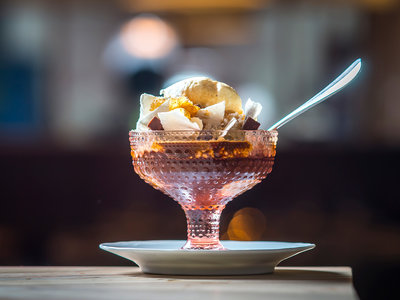 Leuca Ice Cream Sundaes