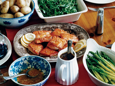 Pan-Fried Salmon with Citrus Vinaigrette