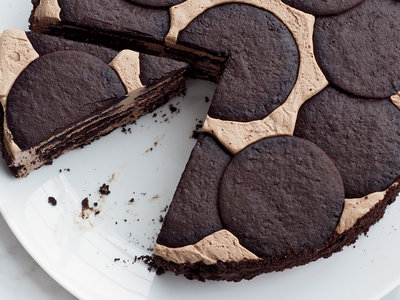 Chocolate Icebox Cheesecake