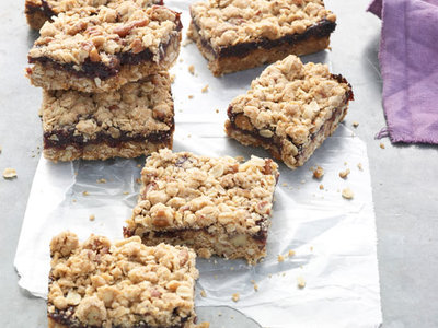 Back-to-School Raspberry Granola Bars