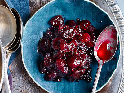FWX CRANBERRY SAUCE WITH DRIED CHERRIES