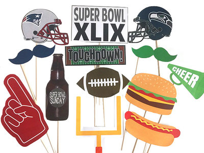 FWX DOMAINE HOME SUPERBOWL PARTY PHOTO BOOTH