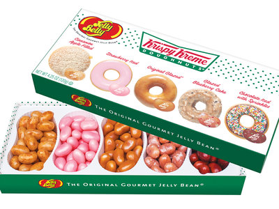 krispy kreme and jelly belly doughnut flavored jelly beans