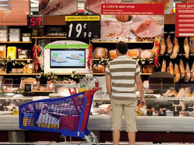 Meat Counter Carrefour