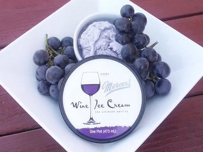 mercers dairy wine ice cream