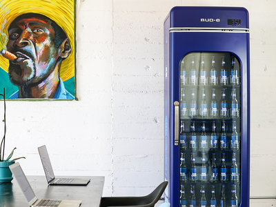 office bud-e beer vending
