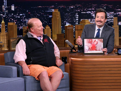 mario batali NBC tonight show