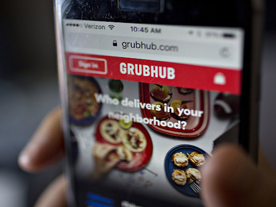 Grubhub most popular delivery service