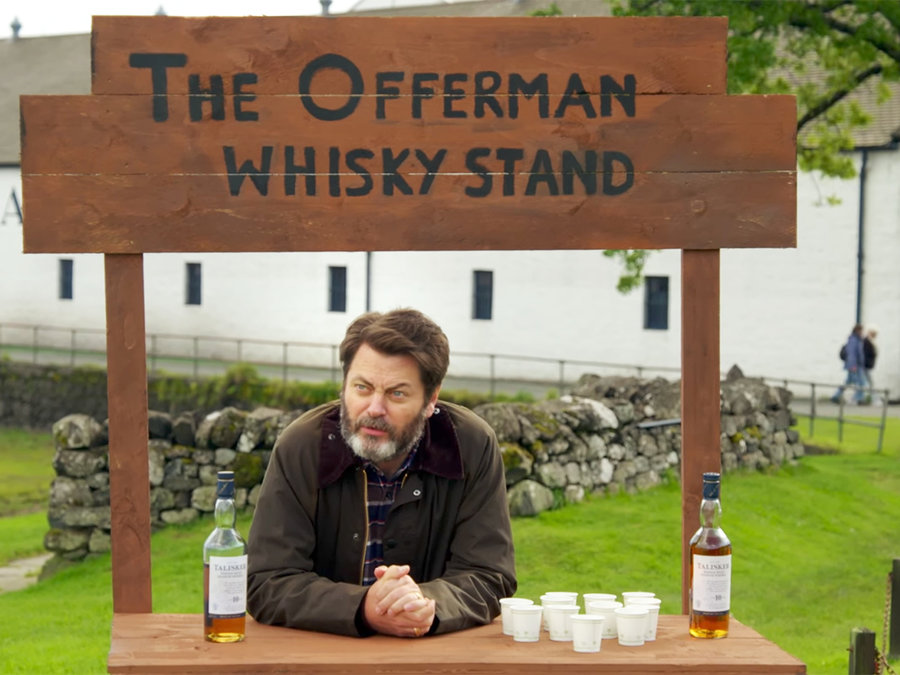 whiskey stand offerman