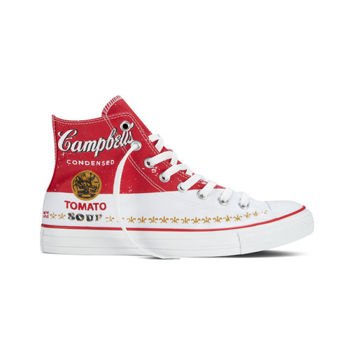 Andy Warhol Soup Can Sneakers