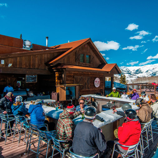 The Ice Bar at Uley's Cabin, Crested Butte Mountain Resort, CO