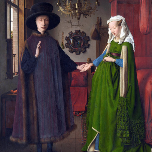 Jan van Eyck hid a self-portrait in The Arnolfini Portrait