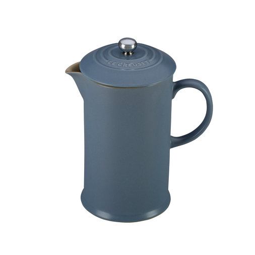 French Press in Mineral Blue