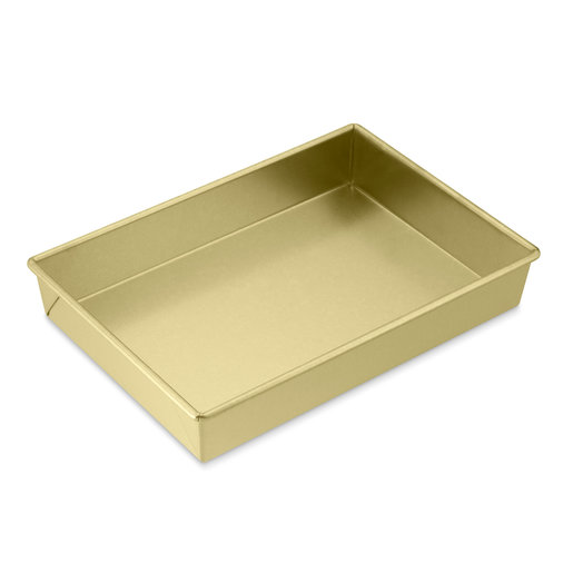Gold-Colored Cake Pan