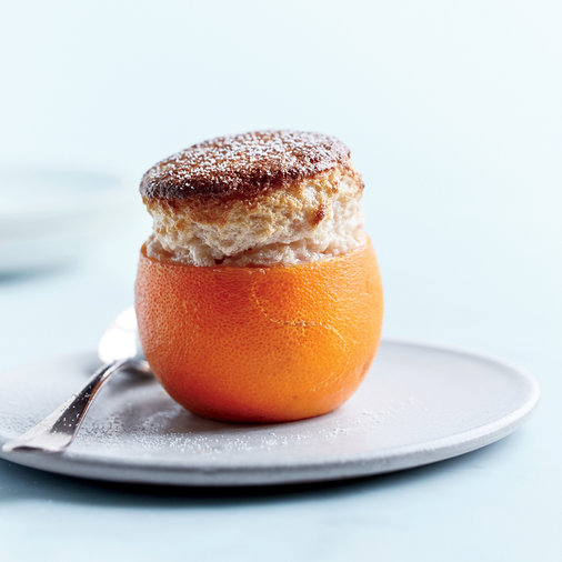 Blood Orange Souffles