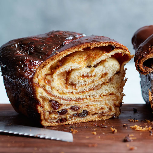 Raisin-Walnut Babka