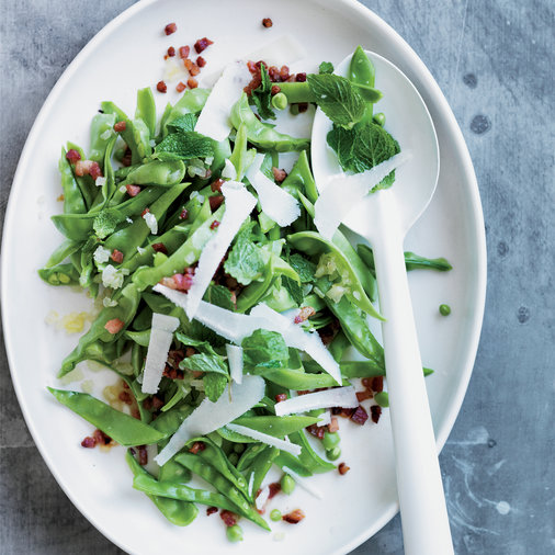 Fresh Snow Pea Salad