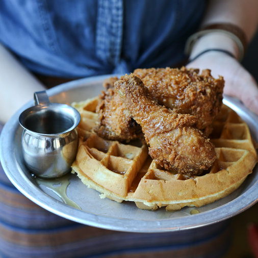 Beasley's Chicken + Honey Chicken and Waffles