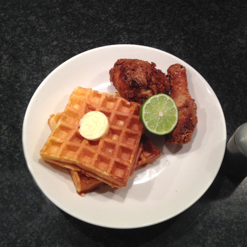Ma Peche Chicken and Waffles