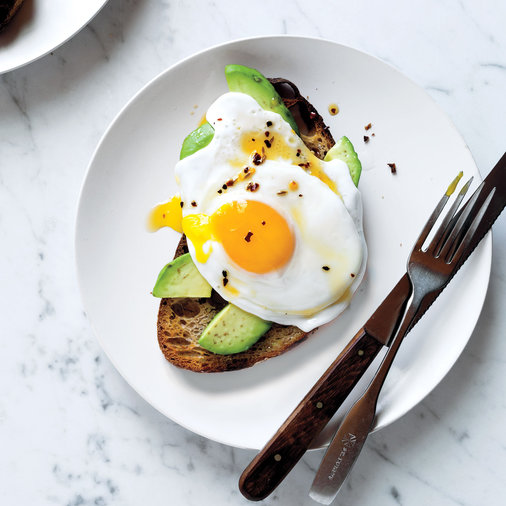 Egg and Avocado Toasts