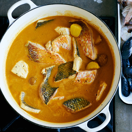 Finish the Bouillabaisse
