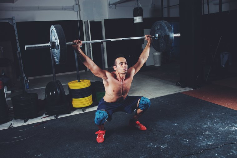 One of New York's Many Crossfit Gyms