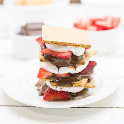S'mores, Strawberry, Chocolate, Marshmallow