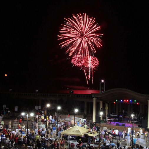 Fireworks, Fourth of July, Atlantic City