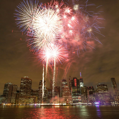 Fireworks, Fourth of July, NYC