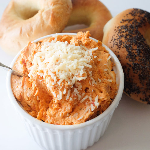 Roasted Tomato Butter Cream Cheese