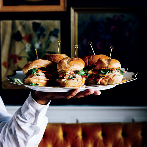 Shrimp Banh Mi Sliders