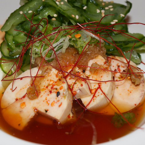 Monkfish Liver at Blowfish Sushi