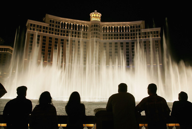 See the Bellagio Fountains
