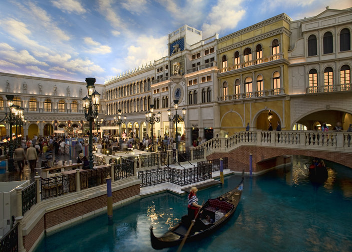 Stay at The Venetian