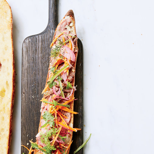 Thai Beef Sandwiches with Green Curry Mayo