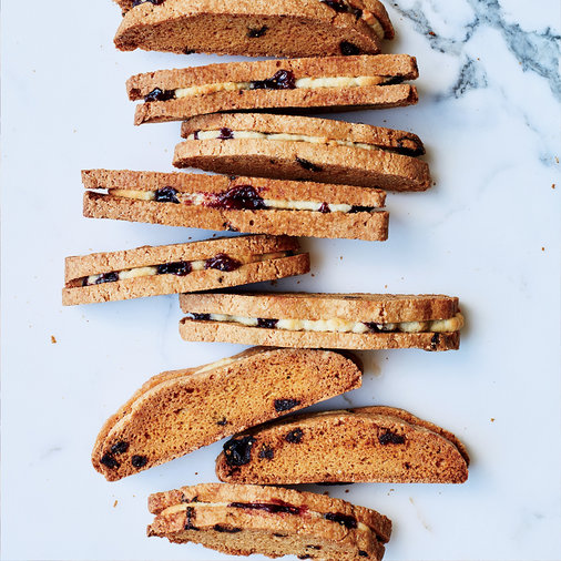Bakewell Biscotti