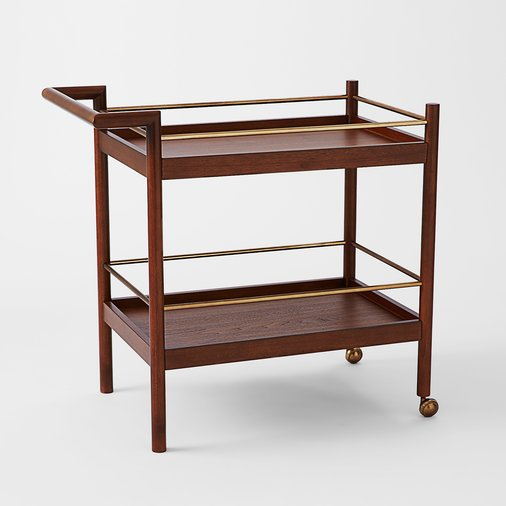 Mid-Century Modern Bar Cart, West Elm