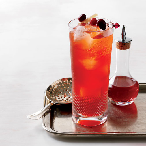 Cranberry Sauce: Cranberry Spice Cocktail