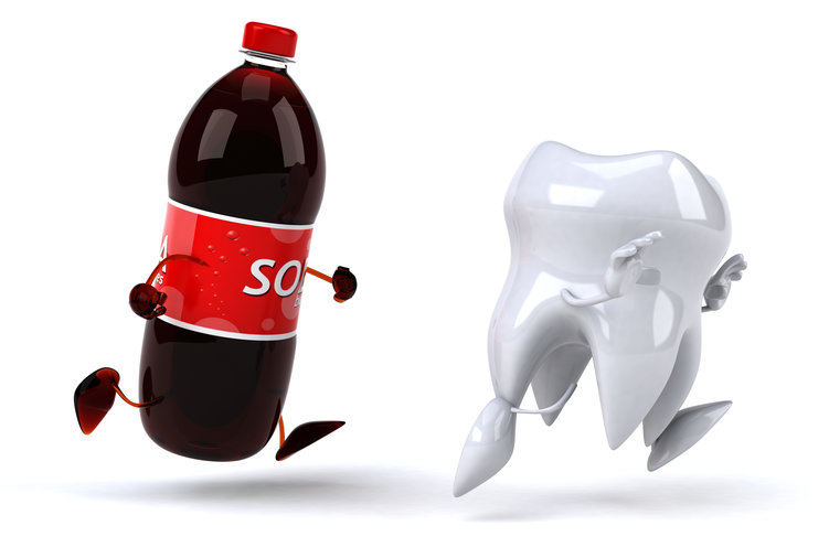Myth #5: A tooth can dissolve in soda overnight.