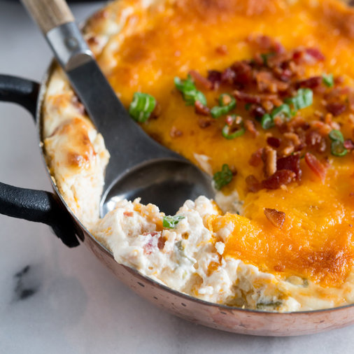 Warm Loaded Baked Potato Dip