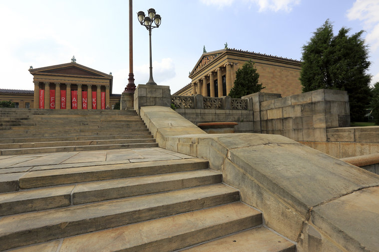 For Exercise: Museum of Art Steps