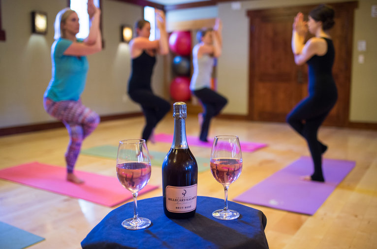 Wine and workout retreats food wine for Yoga and wine retreat