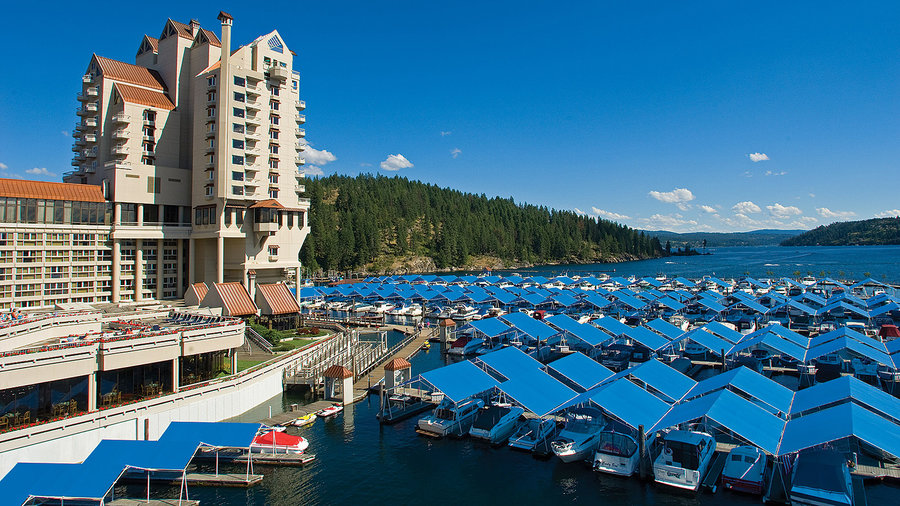 Coeur d'Alene Resort in Idaho