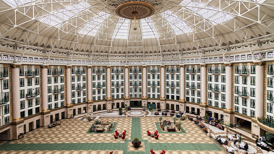 West Baden Springs Hotel in Indiana