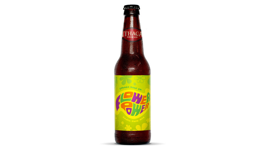 25) Ithaca Flower Power IPA